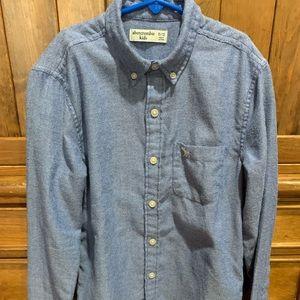 Super soft button down Abercrombie shirt